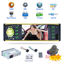 "4,1"" Bluetooth 1DIN Autoradio HD FM Radio 1080P MP5 MP3 Spieler AUX-IN USB/TF BT"