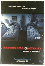 "Paranormal Activity 3 2011 Double Sided Original Movie Poster 27"" x 40"""