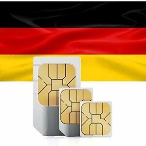 Prepaid SIM Karte DE+49 , aktiv aktiviert registriert , ohne Guthaben , D-Netz