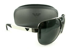 Emporio Armani Sunglasses EA2064 Gunmetal Gray 3003/87 Authentic