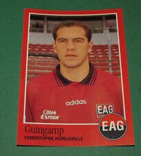 N°87 HORLAVILLE EN AVANT GUINGAMP EAG PANINI FOOT 97 FOOTBALL 1996-1997