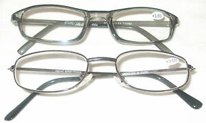 2 Pairs Of Reading Glasses Various Strengths Brand New