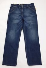 Combobella jeans donna W30 tg 44 relaxed comodo gamba larga usato denim T2581