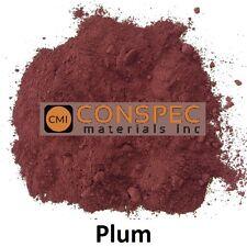PURPLE PLUM Concrete Color Pigment Colorant Dye Cement Mortar Grout Plaster 1 LB