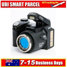 New POLO D7200 13MP HD 1080P Digital Camera Camcorder DSLR Body camera +3 Lens