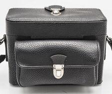 Kameratasche Fototasche Schultertasche camera bag in Schwarz black universal