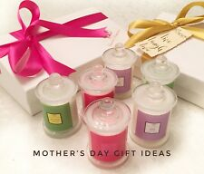 PERSONALISED MESSAGE-MOTHER'S DAY-Luxury Scented Candle Gift Set Soy Wax