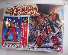 1989 MSZ-010 Bandai Musha Gundamcloth Musha Gundam cloth Real Type Takani w Box