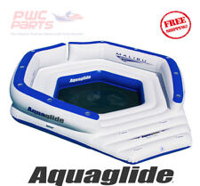 AQUAGLIDE MALIBU LOUNGE Lounger 10 Person Capacity Swim Boat Tube New 58-5214000