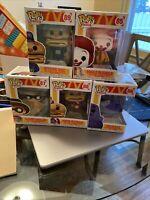 Funko Pop! Ad Icons McDonalds COMPLETE SET