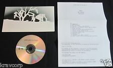 UNKLE 'WAR STORIES' 2007 ADVANCE CD