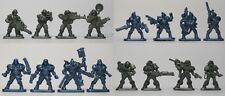 Set of 16 Sci-Fi Figures Bronepehota Russian Toy Soldiers 40 mm Tehnolog wargame
