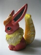 FLAREON stamped Tomy/Auldey plastic Pokemon figurine about 1.75 inches tall