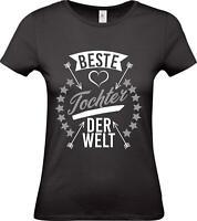 Shirtstown Lady T-Shirt, beste Tochter der Welt, Familie
