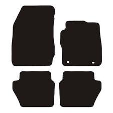 FORD FOCUS FIESTA MONDEO KA UNIVERSAL CAR FLOOR MATS BLACK WITH WHITE TRIM