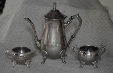 Belle Français ensemble de thé vintage, authentique, antique, salle à manger, Pa