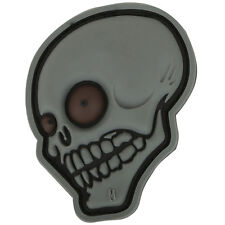 PVC Morale Patch - MAXPEDITION - LOOK SKULL - CRAZY Eyes - STEALTH - Hook & Loop