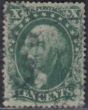 USA Scott #33 10ct Used VF 4 Margins CV $200