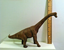 2011 Scheich Jurassic Dinosaur Brachiosaurus Figure. Brown. About 8 In. High
