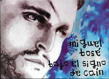"""MIGUEL BOSE' - RARO CD + LIBRO """" BAJO EL SIGNO DE CAIN """""""