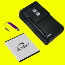 For Samsung Galaxy Nexus SPH-L700 Durable 3150mAh Battery Travel Charger Stylus