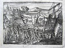LA TOMA DE VIGO (OCTUBRE DE 1719) GALICIA EINNAHME CAPTURE OF VIGO QUADRUPLE