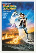 "Poster Back to the Future 1985 Australian 27""x40"" Nm 9.0"