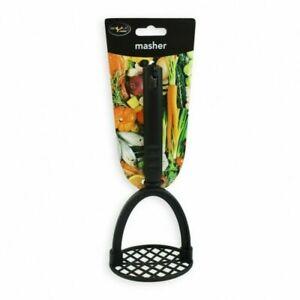Branded Black Nylon Non Stick Potato Vegetable Masher Good Quality