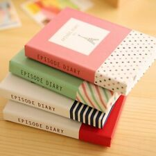 Diary Notebook Office School Supplies + Pen Creative Hardcover Memo Pad Notepads