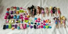 Polly Pocket Clothes, Shoes, Purses and Dolls Lot Mattel