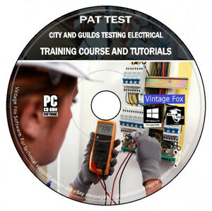 PAT Testing City & Guilds Electrical Training Course And Tutorials PC Data DVD +