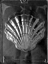 N008 Large Shell Chocolate Candy Soap Mold with Instructions