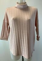 Ladies New Ex Phase Eight  Pink Roll Neck Jumper  Size  8 10 12 14 16 18 RRP £55