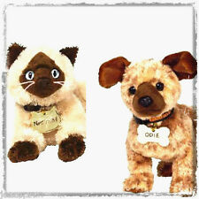 TWO NEW Ty GARFIELD MOVIE Beanie Babies - NERMAL the Cat & ODIE the Dog! Retired