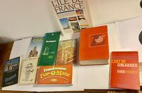 Lot Of 9 Vintage French Books, 1960s!