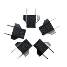 Hi 5PCS US To European EU Travel AC Power Charger Adapter Plug Outlet Converter