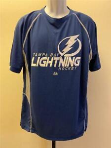 New Tampa Bay Lightning Mens Size L Large Blue Shirt