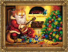 Bead Embroidery kit GOLDEN HANDS LM-023 - New Year
