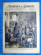 La Domenica del Corriere 18 luglio 1943 WW2 Industria - Elioterapia - Lana vetro