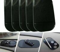 5 Black Sticky Pad Anti-Slip Mat Gel Dash Car Mount Holder For iPhone - USA