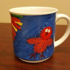 Vintage 1988 Dunbi the Owl The Ink Group Rainbow Coffee by Mug Pamela Lofts
