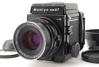【Mint】 Mamiya RB67 Pro S Sekor C 90mm F/3.8 Hood 120 Film Back From Japan #831
