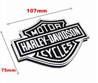 Harley Davidson Chrome Motorcycle Body Tank Emblem Badge Logo Metal Sticker L