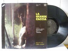 La grande caccia Carlo Savina Colonna sonora 1974  LP 33 Giri (BX7)
