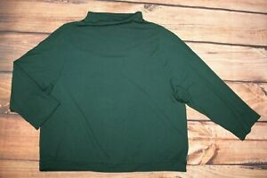 OSKA Ladies Green Lagenlook Casual Jersey Top Jumper Sweatshirt Viscose UK 12