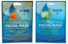 SpaLife Hydrating Facial Wrap Duo - Cucumber/Aloe & Honey/Collagen