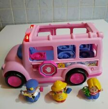 Fisher Price Little People Pink School Bus