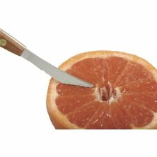 Norpro Squirtless GRAPEFRUIT KNIFE Rose Handle Stainless Steel Blades
