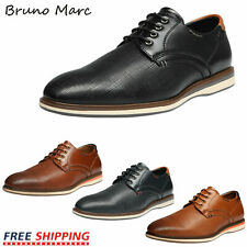 Bruno Marc Mens Formal Dress Shoes Oxford Shoes Lace up Casual Shoes Size 6.5-13