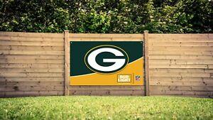 Budweiser Bud Light Green Bay Packers football NFL banner sign poster